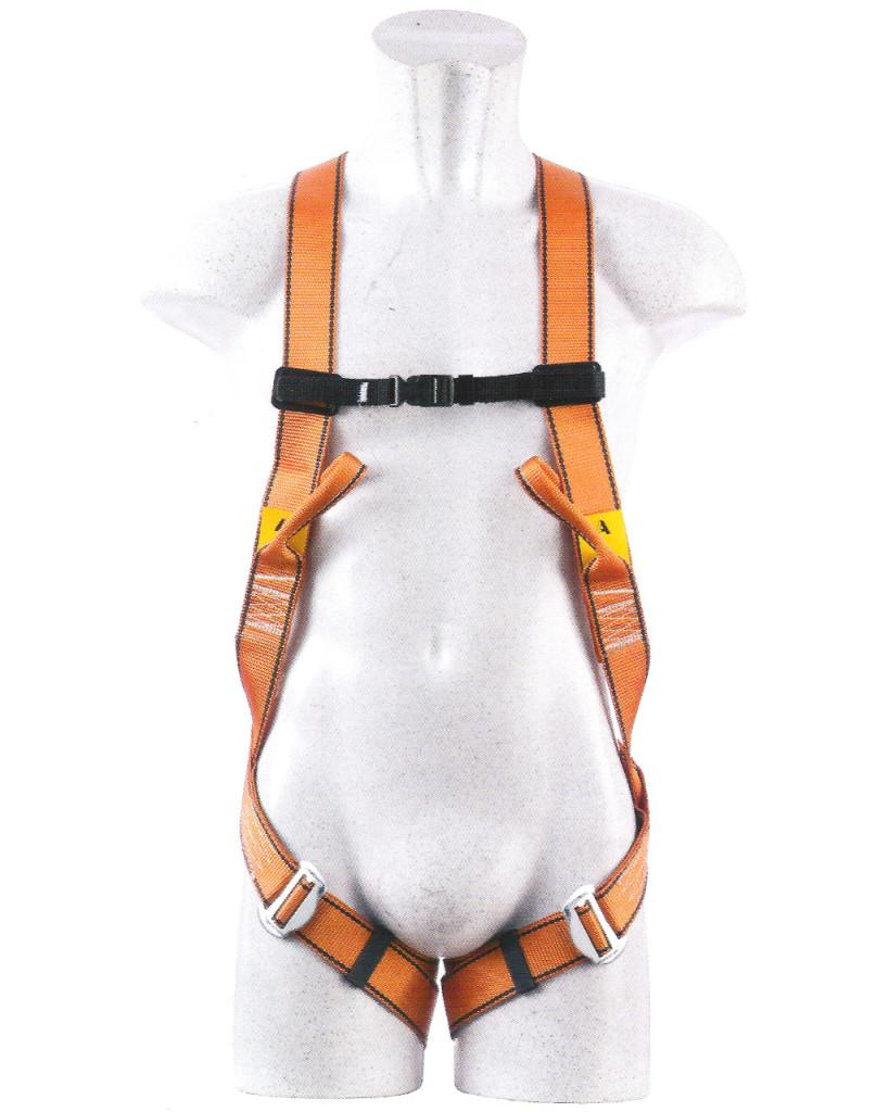 Imbracatura anticaduta attacco dorsale sternale