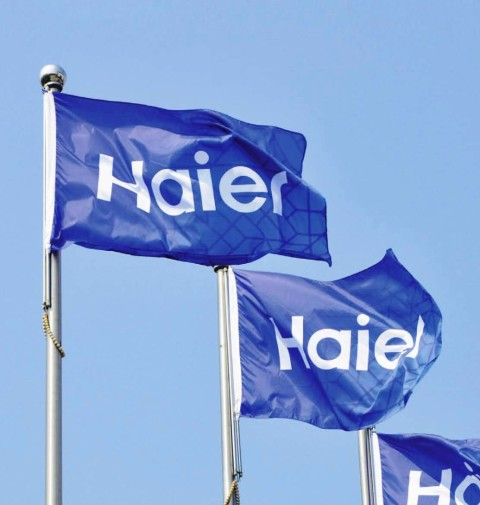 Haier bandiere