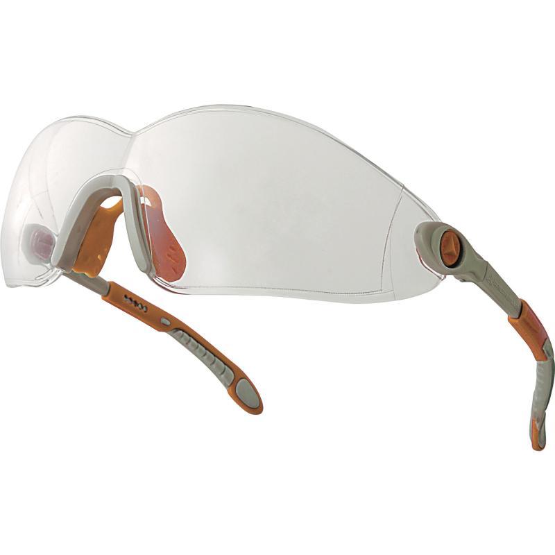 Occhiali protettivi Vulcano2 clear policarbonato monoblocco Deltaplus