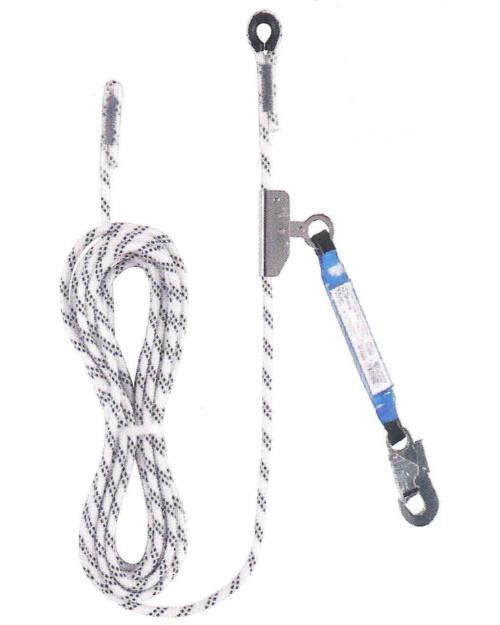 Corda semistatica per spostamenti verticali o su piani inclinati