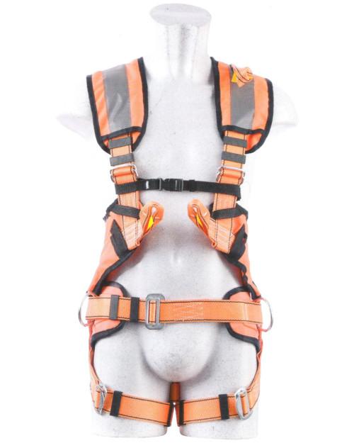 Imbracatura alta visibilita attacco dorsale sternale cintura P50/hv